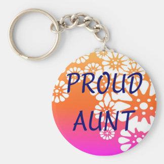 Porte-clés Tante fière Keychain