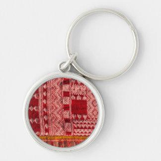 Porte-clés Tapis rouge au marché