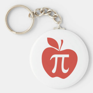Porte-clés Tarte aux pommes rouge
