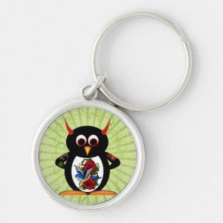 Porte-clés Tatouage mauvais de pingouin