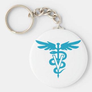 Porte-clés Technologie de vétérinaire - symbole vétérinaire