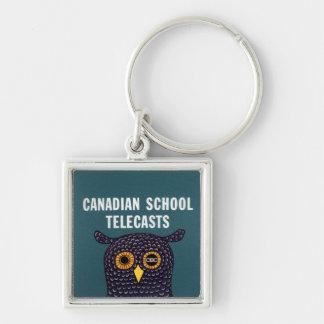 Porte-clés Télédiffusions canadiennes d'école