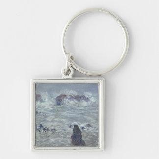Porte-clés Tempête de Claude Monet |, outre de la côte du
