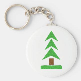 Porte-clés Temps d'arbre