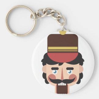 Porte-clés Tête de casse-noix