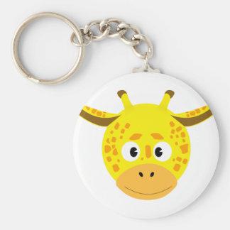 Porte-clés Tête de Girafe