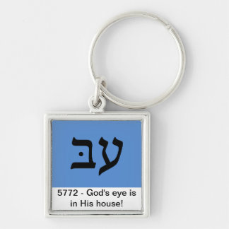 Porte-clés Tête du porte - clé de l'année 5772