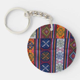 Porte-clés Textile bhoutanais