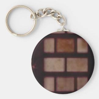 Porte-clés texture de maçon