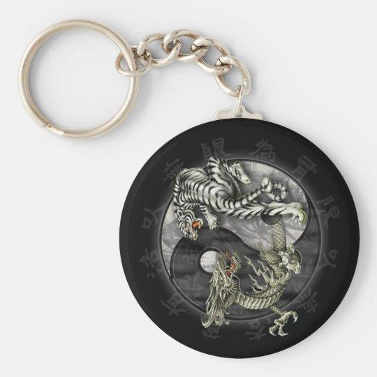 Porte-clés Tigre et dragon