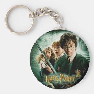 Porte-clés Tir de groupe de ratière de Harry Potter Ron Hermi