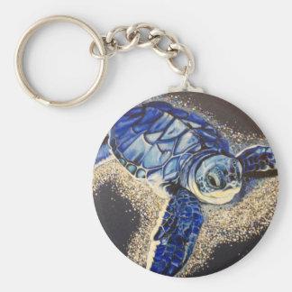 Porte-clés Tobin la tortue de mer de bébé