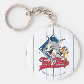 Porte-clés Tom et Jerry | Tom et Jerry sur le diamant de