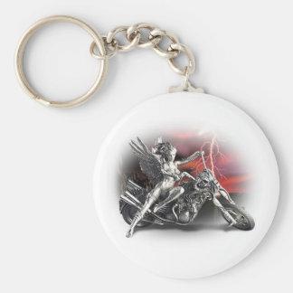 Porte-clés Tour avec les anges