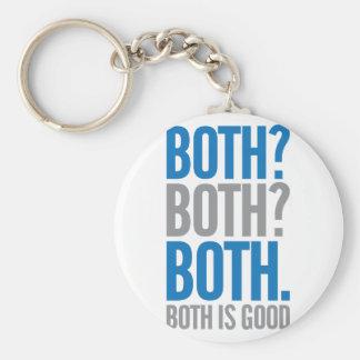Porte-clés Tous les deux sont bons