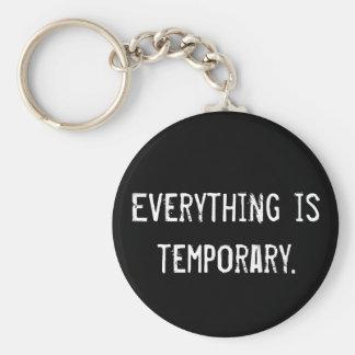 Porte-clés Tout est provisoire