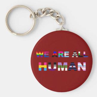 Porte-clés Tout le rouge humain