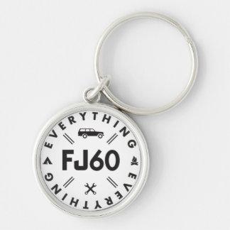 Porte-clés Tout porte - clé du logo FJ60