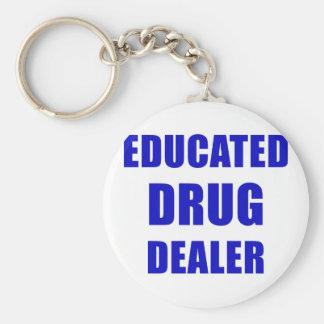 Porte-clés Trafiquant de drogue instruit (pharmacien)