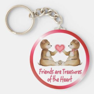 Porte-clés Trésors de coeur