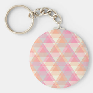 Porte-clés Triangles roses
