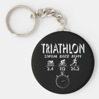 Porte-clés Triathlon