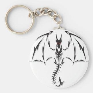 Porte-clés tribal dragon