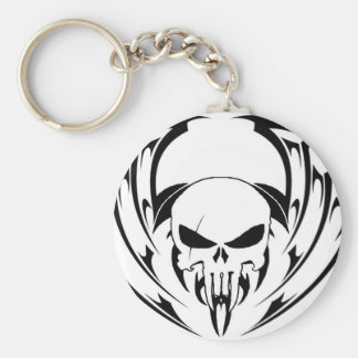 Porte-clés Tribal skull