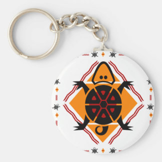 Porte-clés tribal-tortues