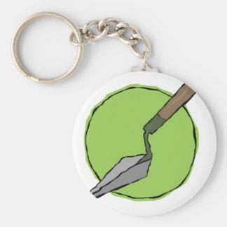 Porte-clés Truelle verte - la trousse à outils de