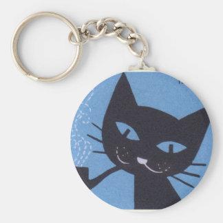 Porte-clés Tuyau de tabagisme polonais de chat d'étiquette de