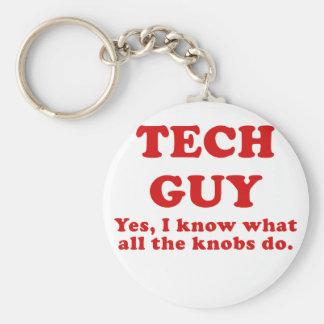 Porte-clés Type de technologie oui je sais ce que tous les
