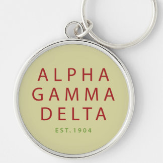 Porte-clés Type moderne d'alpha delta gamma