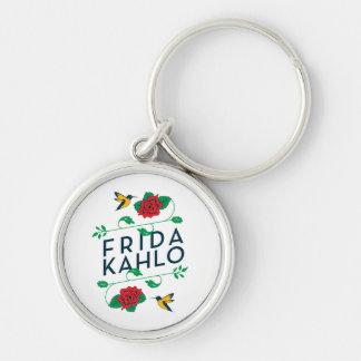 Porte-clés Typographie florale de Frida Kahlo |