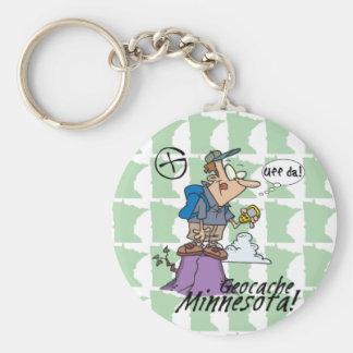 Porte-clés Uff DA ! Porte - clé #1 du Minnesota Cacher