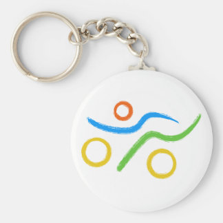 Porte-clés Un grand cadeau de triathlon pour votre ami ou