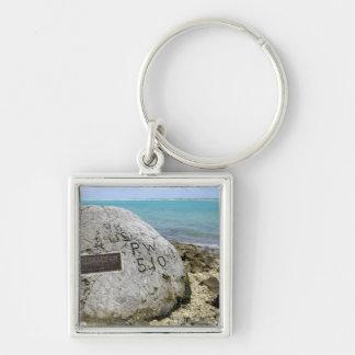 Porte-clés Un mémorial aux prisonniers de guerre sur l'île de