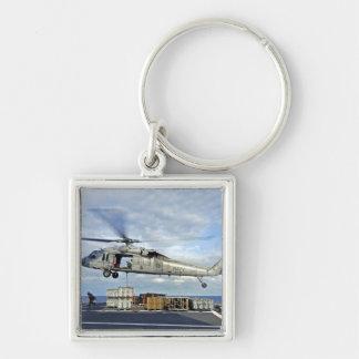 Porte-clés Un MH-60S Seahawk prépare pour livrer l'ammunitio