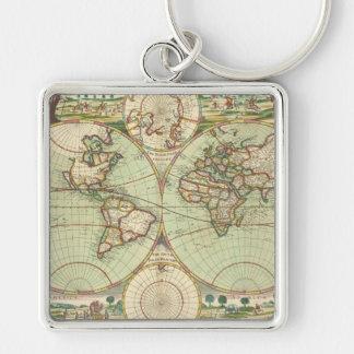 Porte-clés Un nouveau mapp du monde - atlas