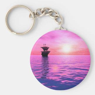 Porte-clés Un porte - clé de bateau à voile