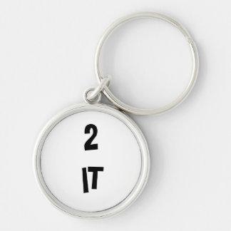 Porte-clés Un rond à lui porte - clé