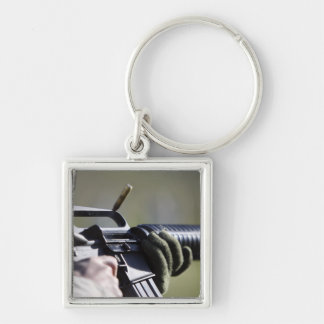 Porte-clés Un rond vole de la chambre d'un M-16A2