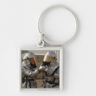 Porte-clés Un sapeur-pompier irakien