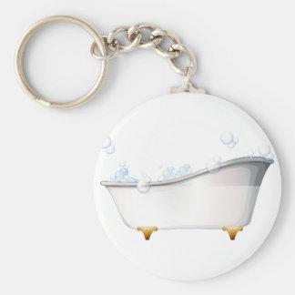 Porte-clés Une baignoire