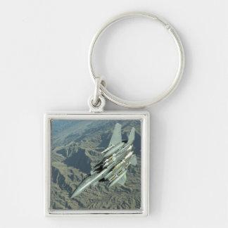 Porte-clés Une grève Eagle de l'Armée de l'Air d'USA F-15E