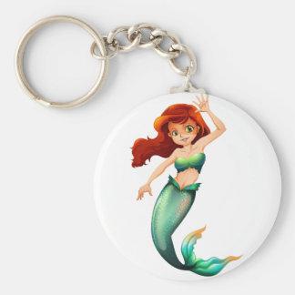 Porte-clés Une jolie sirène