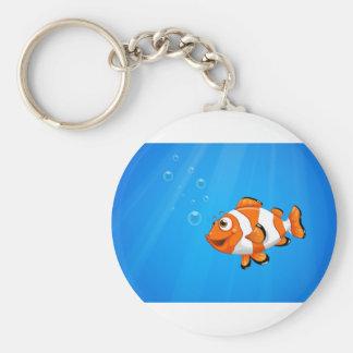 Porte-clés Une mer avec un poisson de nemo