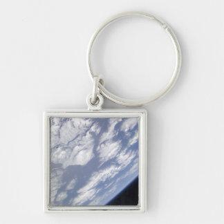 Porte-clés Une partie bleue et blanche de la terre