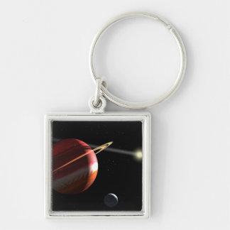 Porte-clés Une planète de la Jupiter-masse satellisant