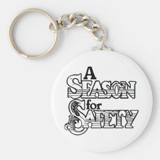 Porte-clés Une saison pour le porte - clé de sécurité